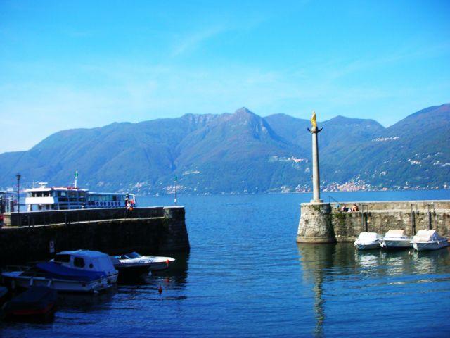 Zdj�cia: luino, tesino, jezioro lago maggiore, W�OCHY