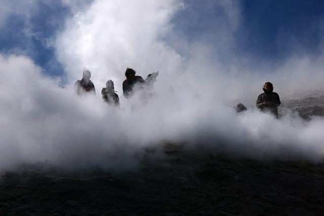"""Zdjęcia: Sycylia - Etna, """"W oparach piekielnych"""", WłOCHY"""
