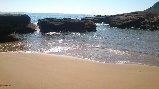 Zdjęcia: Iola Cappo di Rizutto, Południe, Idealna plaża niedaleko Iola Cappo di Rizutto, WłOCHY