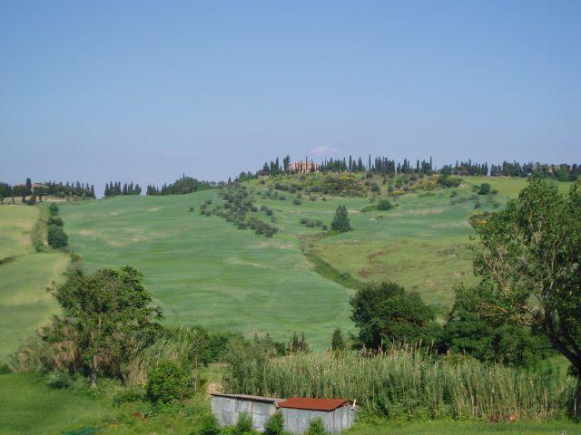 Zdj�cia: Pomarance, Toscana, Widoczek Toscanii, W�OCHY