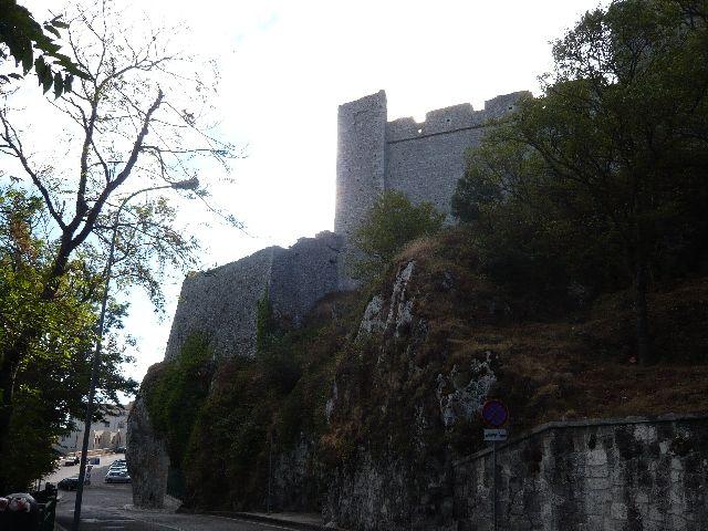 Zdjęcia: Monte San Angelo, ruiny zamku, WłOCHY