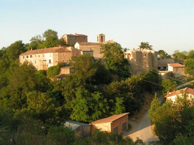 Zdjęcia: Twierdza Piagnano, Marche, Piagnano, WłOCHY