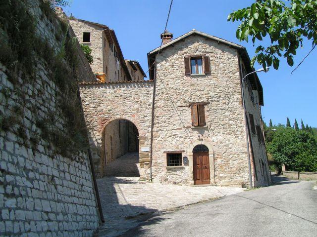 Zdjęcia: Brama miejska, Marche, Macerata Feltria, WłOCHY