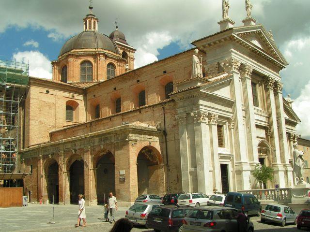 Zdj�cia: Katedra, Marche, Urbino, W�OCHY