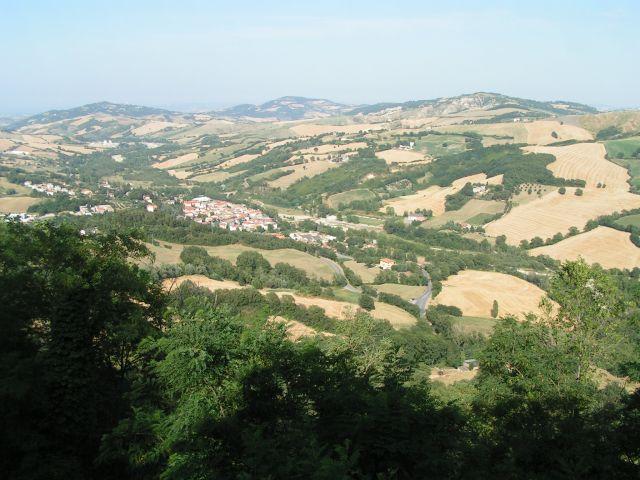Zdj�cia: Na trasie, Marche, Pejza�, W�OCHY
