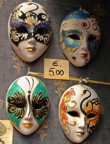 Zdjęcia: Wenecja, Emilia Romana, Maski, WłOCHY