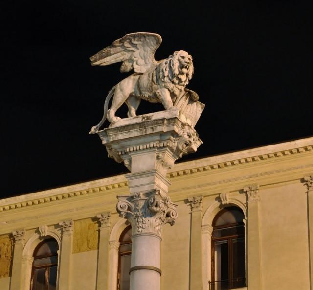 Zdjęcia: Padwa, Veneto, Padwa nocą, WłOCHY