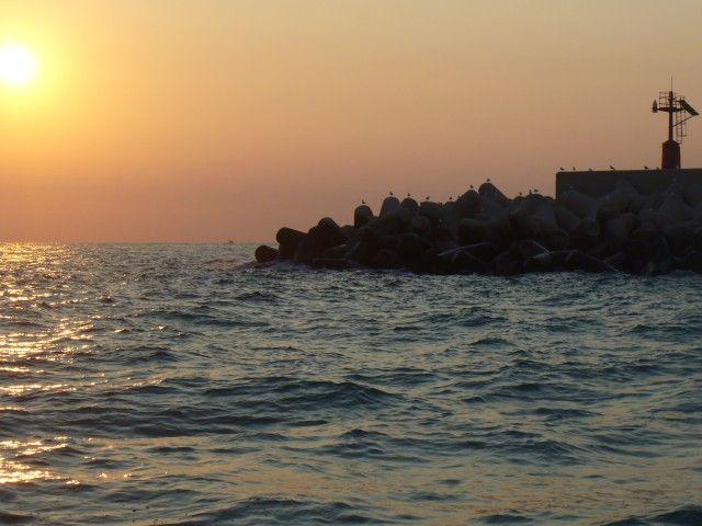 Zdjęcia: port, Bari, W główkach Bari, WłOCHY