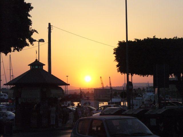 Zdjęcia: Syrakuzy, Sycylia, Zachód w Syrakuzach, WłOCHY