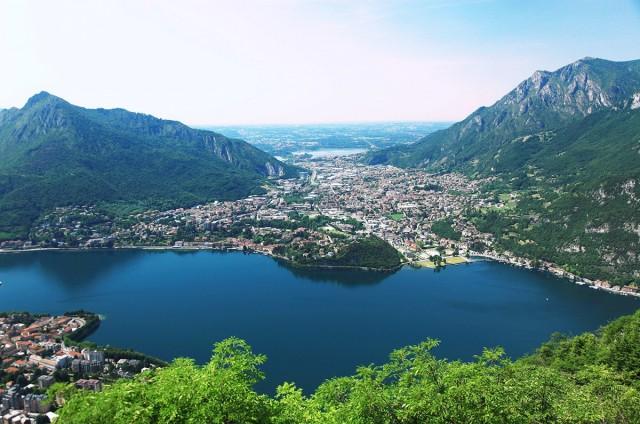 Zdjęcia: Góra San Martino (1090 m), Lecco, Valmadrera, WłOCHY