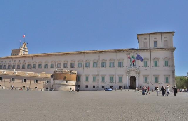 Zdjęcia: Rzym, Lazio, Rzym, pałac na Kwirynale XVI w., WłOCHY