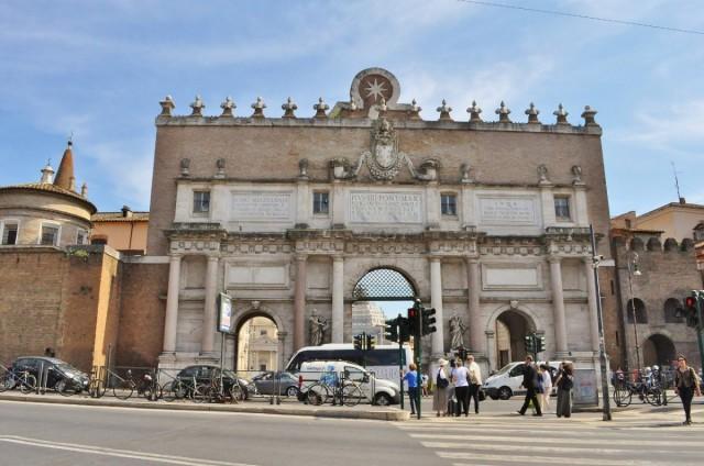 Zdjęcia: Rzym, Lazio, Rzym, Piazza del Popolo, WłOCHY