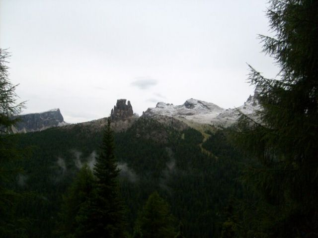 Zdjęcia: Dolomity, Sierpniowe przymrozki., WłOCHY