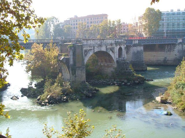 Zdjęcia: Rzym, Rzym, Rzym -most Ponte Rotto, WłOCHY