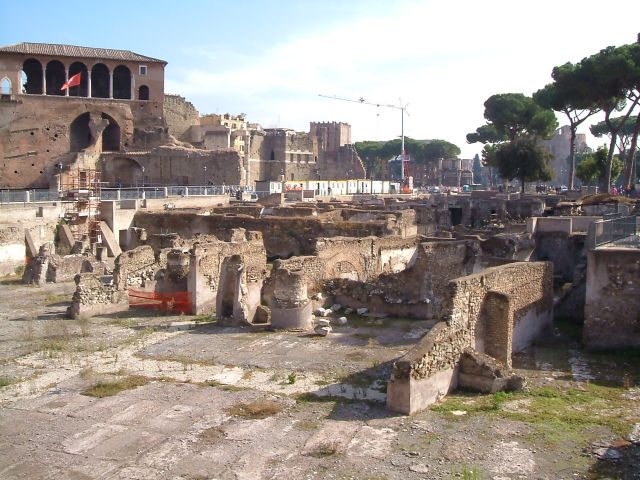 Zdjęcia: Rzym, Rzym, Rzym - targowisko Trajana, WłOCHY