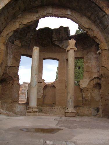 Zdjęcia: Tivoli, Rzym, Tivoli - termy w willi Adriana, WłOCHY