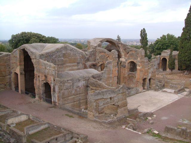 Zdjęcia: Tivoli, Rzym, Tivoli - willa Adriana duże termy, WłOCHY
