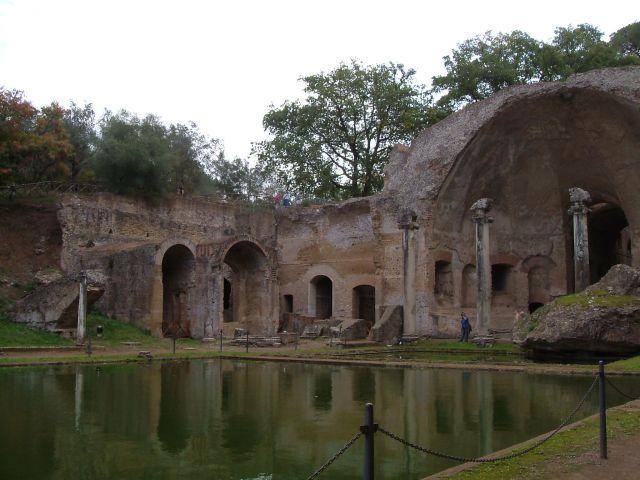 Zdj�cia: Tivoli, Rzym, Tivoli - w willi  Adriana, W�OCHY