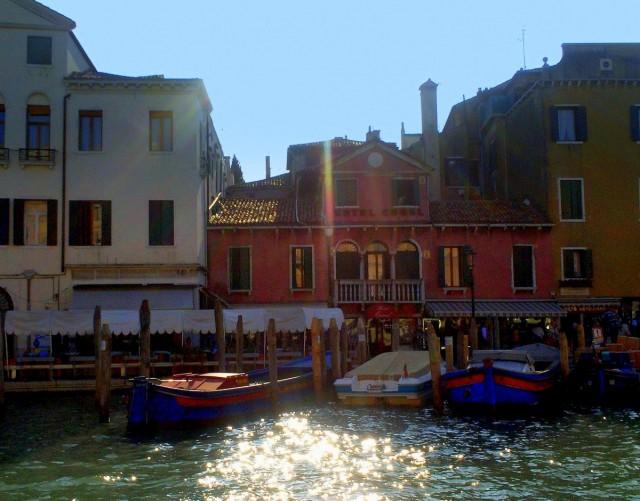 Zdjęcia: Wenecja, Wenecja Euganejska, Płynąc Grande Canale, WłOCHY