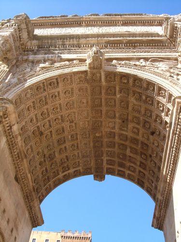 Zdjęcia: Rzym, Rzym, Łuk Septymiusza Rzym , WłOCHY