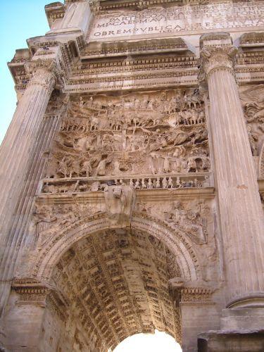 Zdjęcia: Rzym, Rzym, Łuk Septymiusza Rzym, WłOCHY