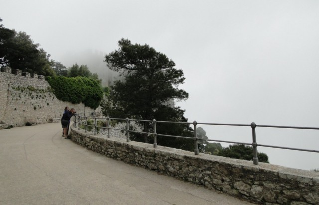 Zdjęcia: Erice., Sycylia, Z podróży po Sycylii - ericejskie mgły (5), WłOCHY
