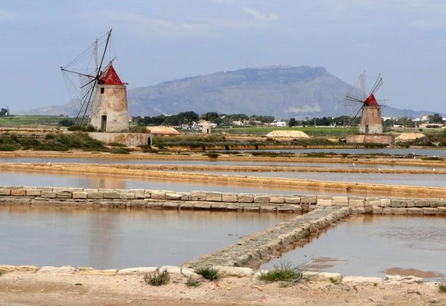 Zdjęcia: Marsala, Sycylia, Sycylijskie saliny., WłOCHY