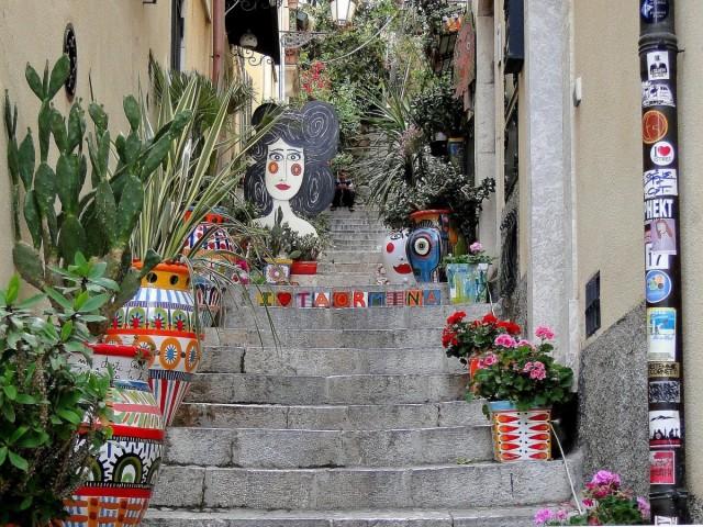 Zdjęcia: Taormina, Sycylia, Klimaty Taorminy (9), WłOCHY