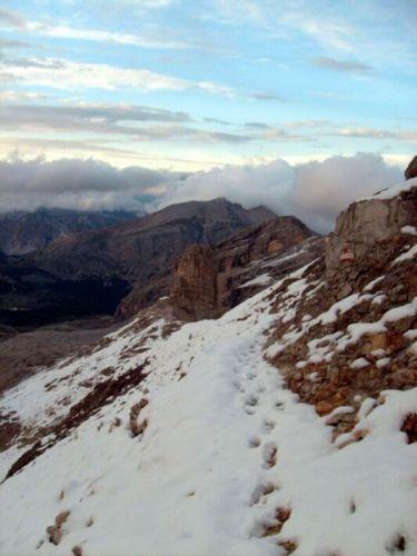Zdjęcia: Dolomity, Prztarty szlak., WłOCHY