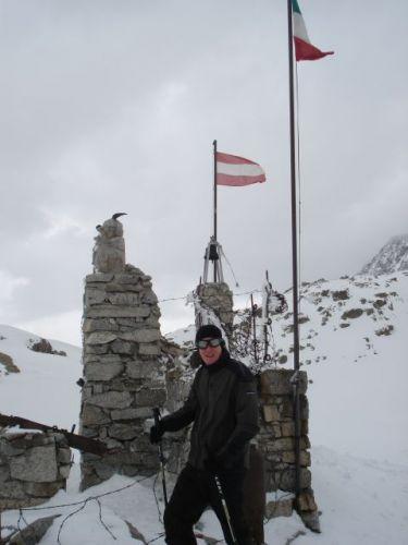 Zdjęcia: Ghiacciaio Presena 2730m, Dolomity, Ghiacciaio Presena 2730m, WłOCHY