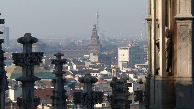 Zdjęcia: Mediolan, Mediolan, zamek Sforzesco, WłOCHY