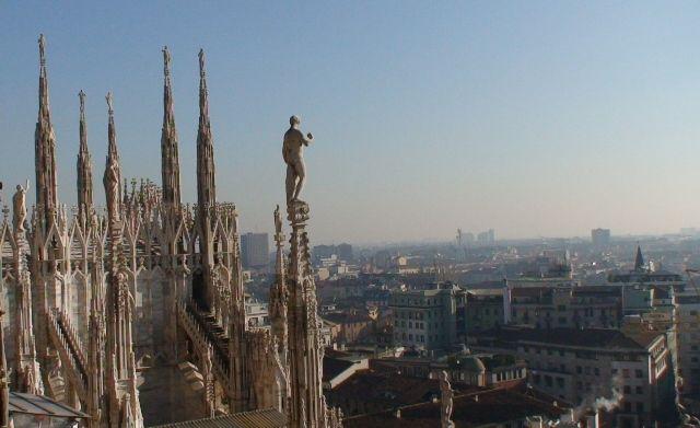 Zdjęcia: Mediolan, Mediolan, Mediolan z góry, WłOCHY
