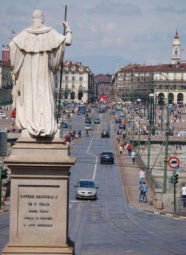Zdjęcia: Turyn, Piemont, Uliczka, WłOCHY