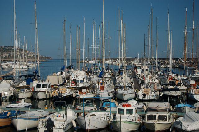Zdjęcia: San Remo, Port, WłOCHY