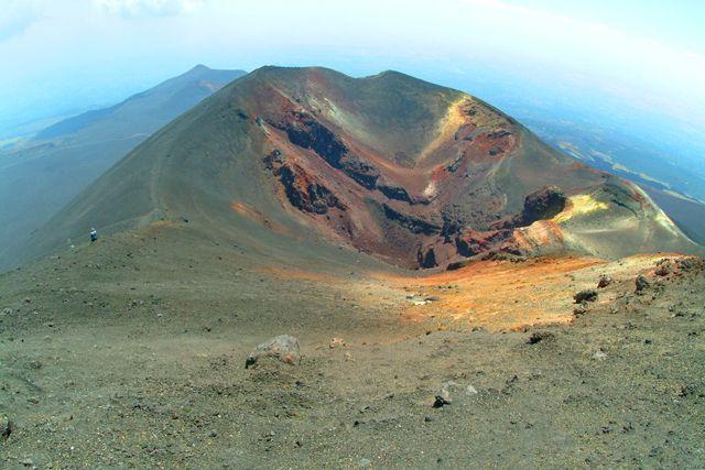 Zdjęcia: Etna, Sycylia, Etna - nieczynny krater, WłOCHY