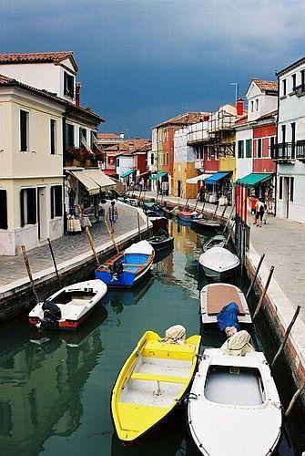 Zdjęcia: Burano, Veneto, Laguna Wenecka, 1001 kolorów, WłOCHY