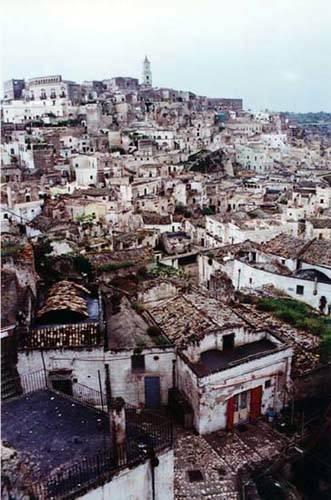 Zdjęcia: Matera Sassi, Basilicata, Umarłe miasta, WłOCHY