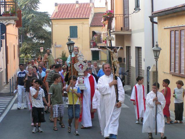 Zdjęcia: Elba, San Piero, procesja z okazji odpustu św. Piotra i Pawła, WłOCHY