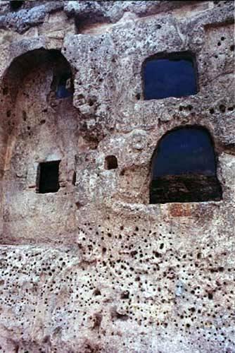 Zdjęcia: Matera Sassi, Basilicata, Umarłe miasta - kościół skalny, WłOCHY