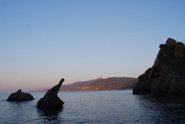 Zdjęcia: CEFALU, SYCYLIA, Zachód słońca, WłOCHY