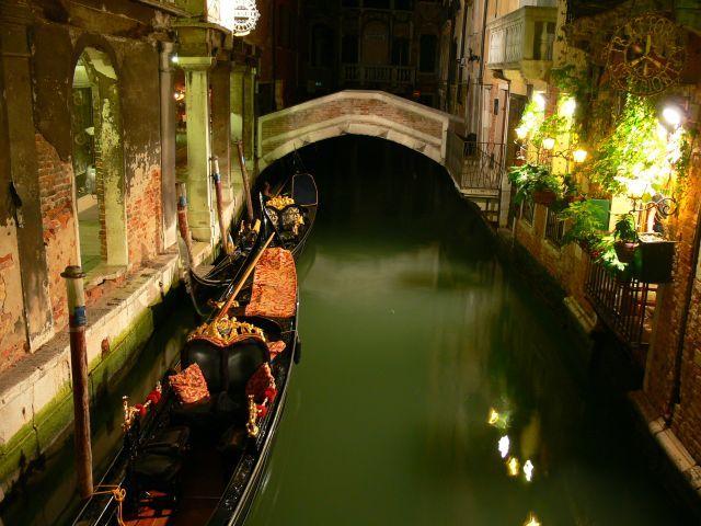 Zdjęcia: Wenecja, Wenecja noca, WłOCHY
