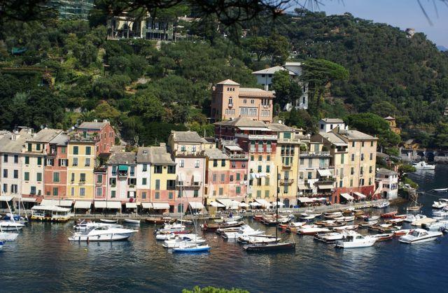 Zdjęcia: Portofino, Liguria, Port w Portofino, WłOCHY