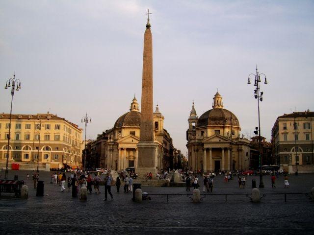 Zdjęcia: Rrzym, Lazio, Piazza del Popolo, WłOCHY