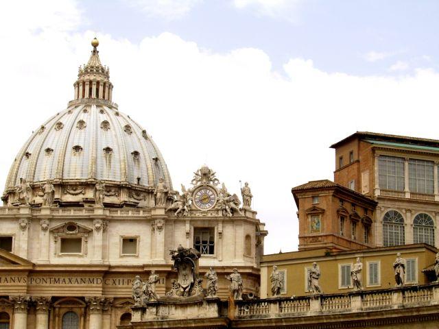 Zdjęcia: Rzym, Lazio, Budynki Watykanu, WłOCHY