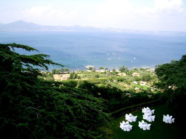 Zdj�cia: Bracciano, Lazio, Lago di Bracciano, W�OCHY