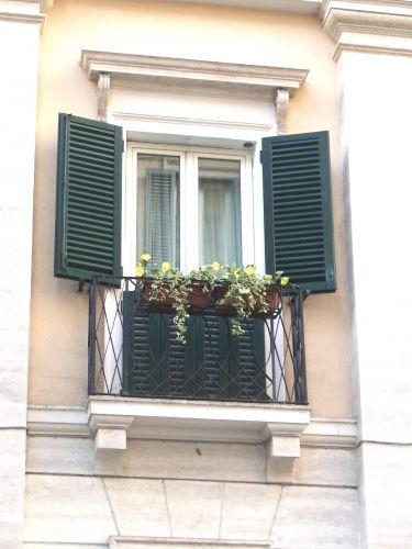 Zdjęcia: Rzym, Lazio, okno, WłOCHY