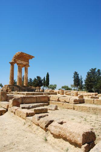 Zdjęcia: AGRIGENTO, SYCYLIA, Świątynia Castor i Pollux'a , WłOCHY