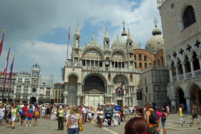 Zdjęcia: Wenecja, Emilia Romania, Bazylika Św. Marka, WłOCHY