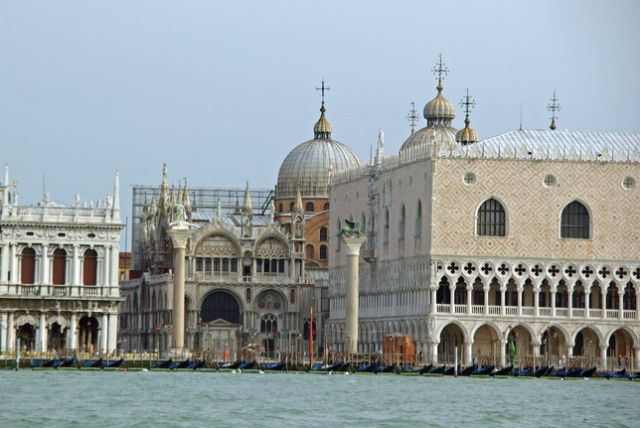 Zdjęcia: Wenecja, Emilia Romania, Bazylika Św. Marka i Pałac Dożów, WłOCHY