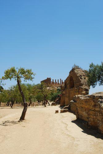 Zdjęcia: AGRIGENTO, SYCYLIA, Świątynia Hery, WłOCHY